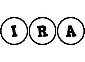Ira handy logo