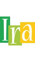 Ira lemonade logo