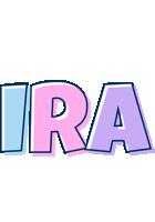 Ira pastel logo