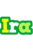Ira soccer logo