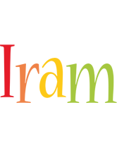Iram birthday logo