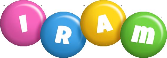 Iram candy logo