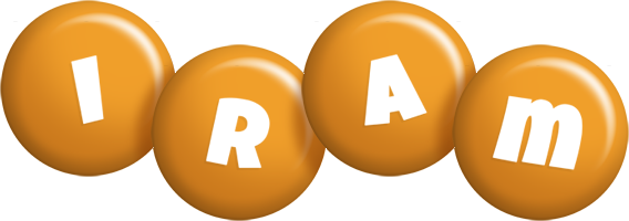 Iram candy-orange logo