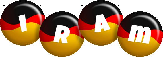 Iram german logo