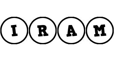 Iram handy logo
