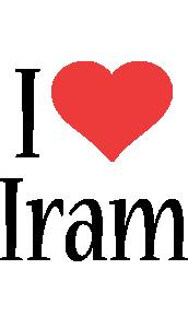 Iram i-love logo
