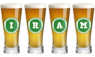 Iram lager logo