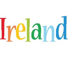 Ireland birthday logo