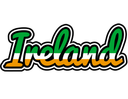 IRELAND logo effect. Colorful text effects in various flavors. Customize your own text here: https://www.textGiraffe.com/logos/ireland/
