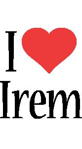 Irem i-love logo