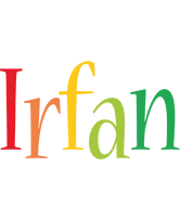 Irfan birthday logo
