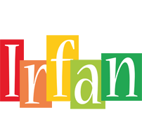 Irfan colors logo