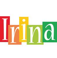 Irina colors logo