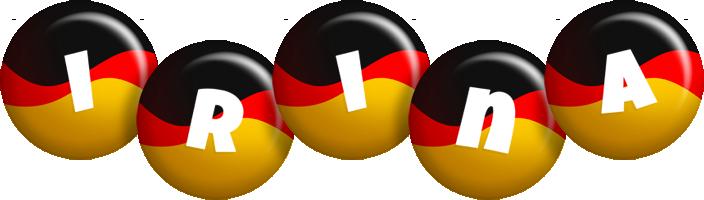 Irina german logo