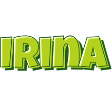 Irina summer logo