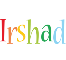 Irshad birthday logo