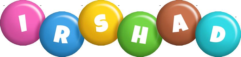 Irshad candy logo