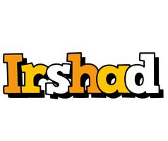 Irshad cartoon logo