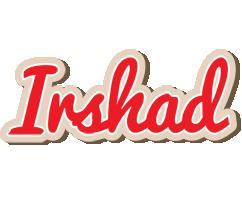 Irshad chocolate logo
