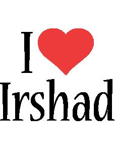 Irshad i-love logo