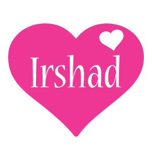 Irshad love-heart logo