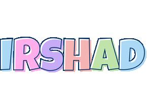 Irshad Name Logo