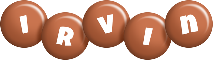 Irvin candy-brown logo