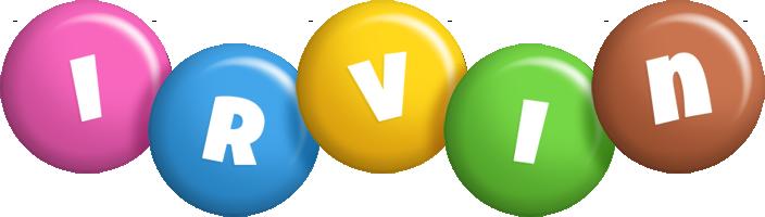 Irvin candy logo
