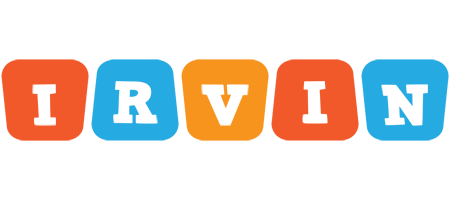 Irvin comics logo