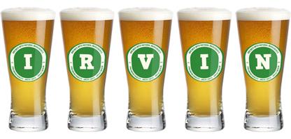 Irvin lager logo