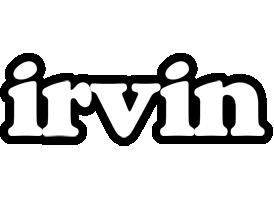 Irvin panda logo