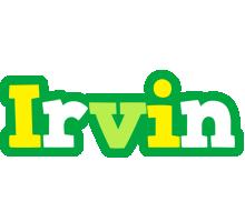 Irvin soccer logo