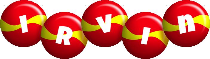 Irvin spain logo