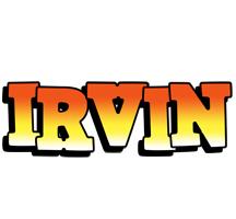 Irvin sunset logo