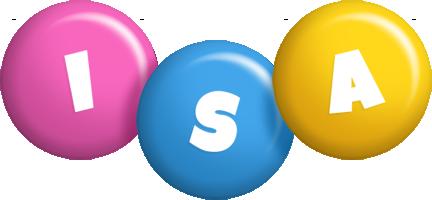 Isa candy logo