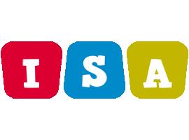 Isa daycare logo