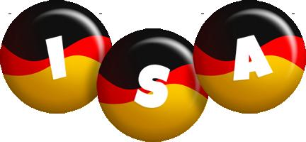 Isa german logo
