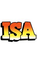 Isa sunset logo