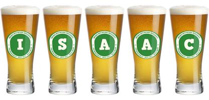 Isaac lager logo