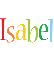Isabel birthday logo