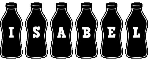 Isabel bottle logo