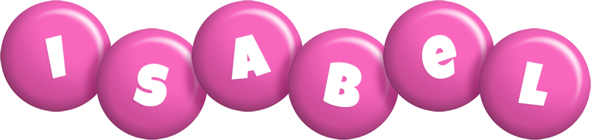 Isabel candy-pink logo