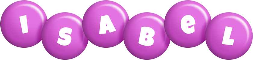 Isabel candy-purple logo