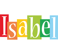 Isabel colors logo