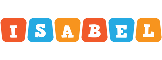 Isabel comics logo