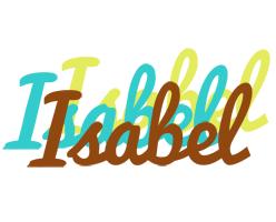 Isabel cupcake logo