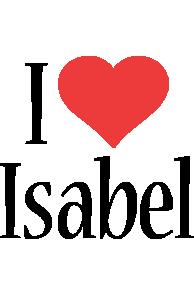 Isabel i-love logo