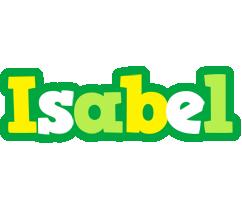 Isabel soccer logo