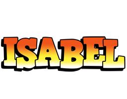 Isabel sunset logo