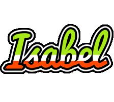 Isabel superfun logo